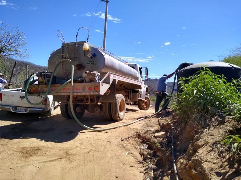 7 municipios piden auxilio a CONAGUA por falta de agua