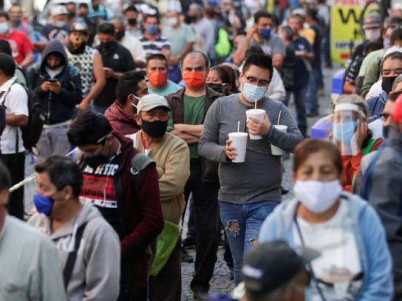 México inicia 2021 con 700 nuevas muertes por covid-19