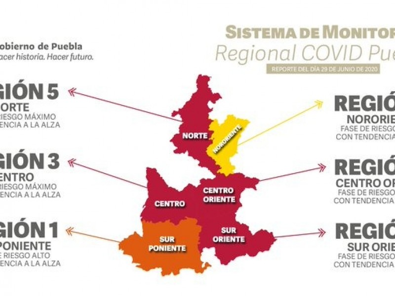 72 municipios podrían podrían regresar a la nueva normalidad