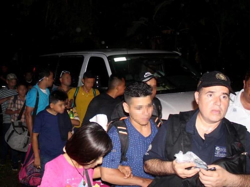 75 migrantes fueron interceptados en Mezcalapa