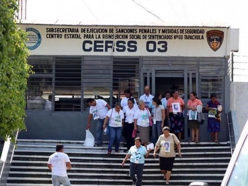 79 mujeres en CERESO de Tapachula en precariedad