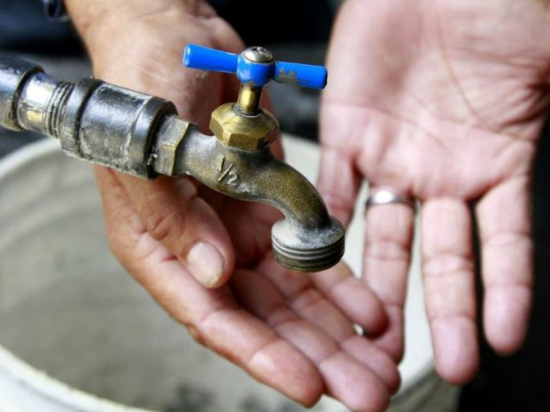 8 colonias de Veracruz sin agua a partir de mañana