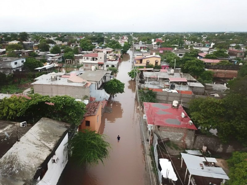 8 mil damnificados y mil viviendas inundadas en Juchitán