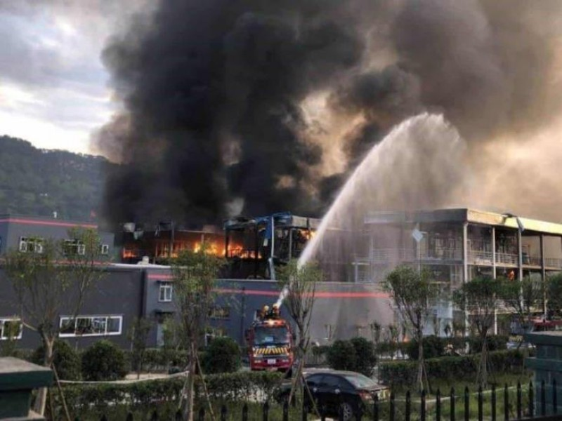 8 muertos y 3 heridos por fuga química en China