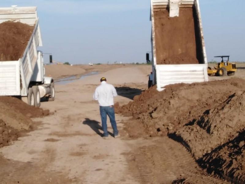 80 mdp se invierten en tercera fase desviación dren Juárez
