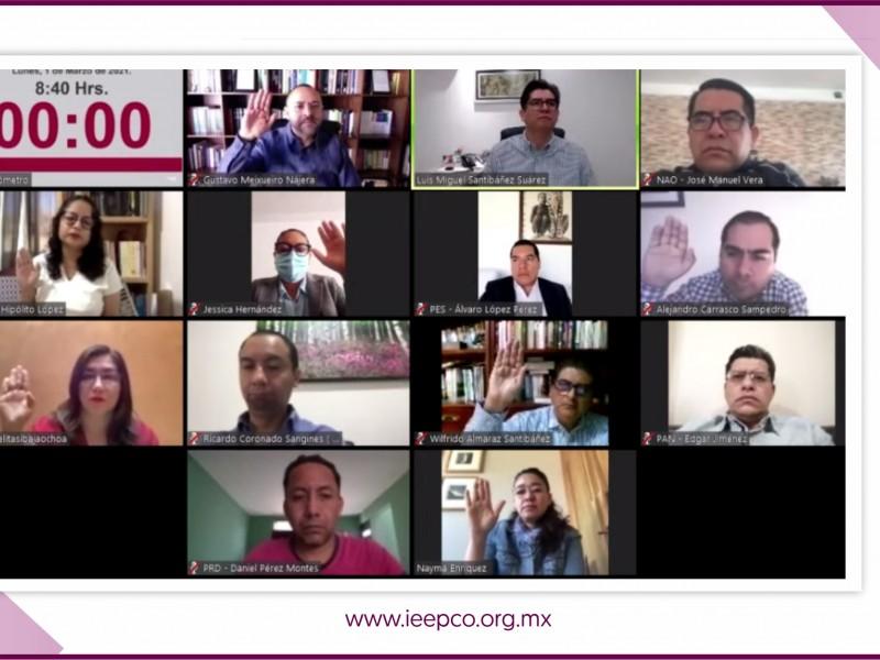 824 personas organizarán los comicios municipales en Oaxaca