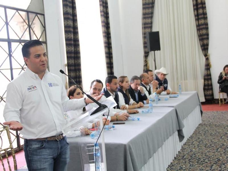 84% de rechazo el PRI: Damián Zepeda