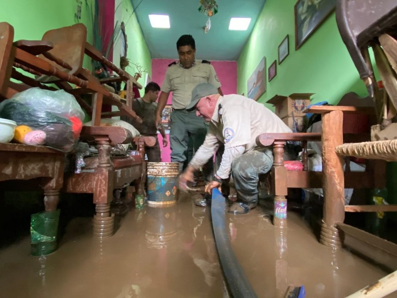 86 casas afectadas por tormenta en Zapotiltic