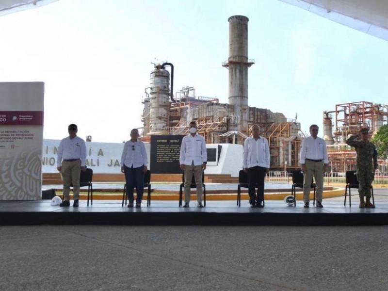 86% de avances en rehabilitación de refinería ADJ