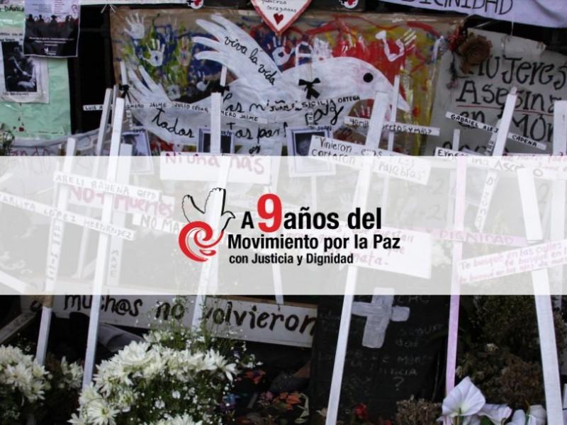 9 años del Movimiento por la Paz