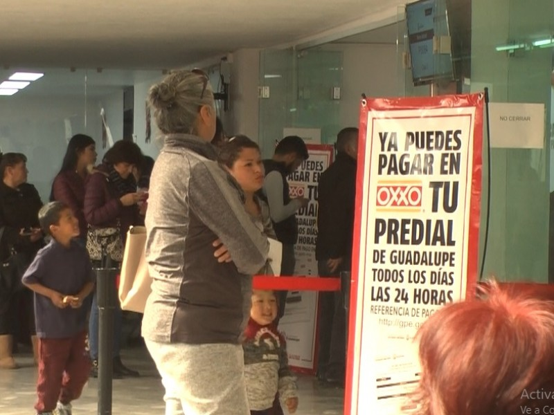 9% del total anual, recaudación Guadalupe