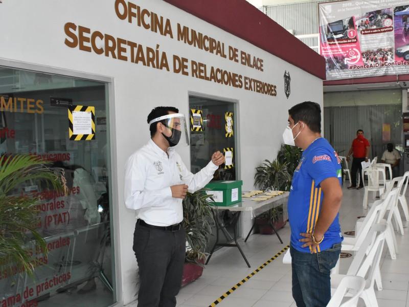 Pese a pandemia y por trabajo, ciudadanos solicitan pasaportes