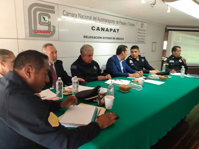 A la baja asaltos a transporte público: CANAPAT