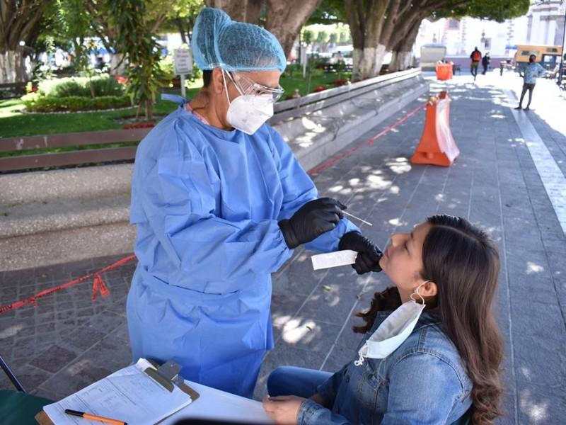 A la baja defunciones por coronavirus en Guanajuato