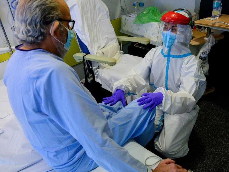 A la baja pacientes hospitalizados por Covid-19