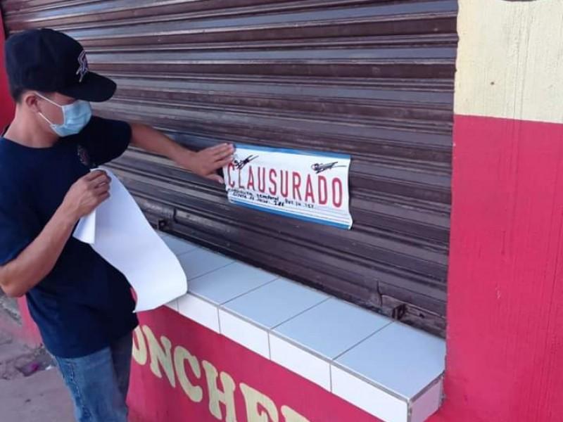 A la clausura negocios en Ruiz que incumplan protocolos COVID