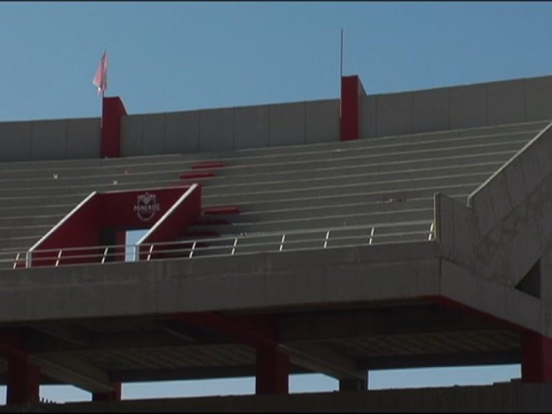 A medias la remodelación de estadio Carlos VegaVillalba