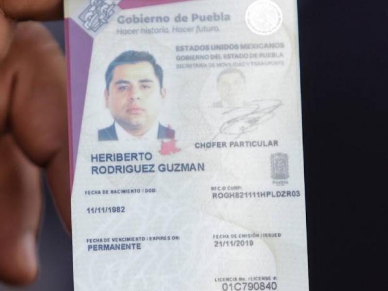 A partir de octubre podrán reponer la licencia de conducir