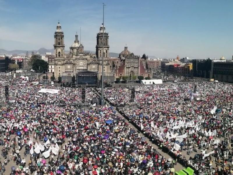 A pesar de alertas sanitarias alistan Marcha del Millón