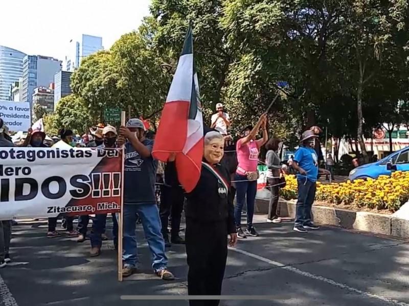 A pesar de alertas sanitarias Inició la marcha