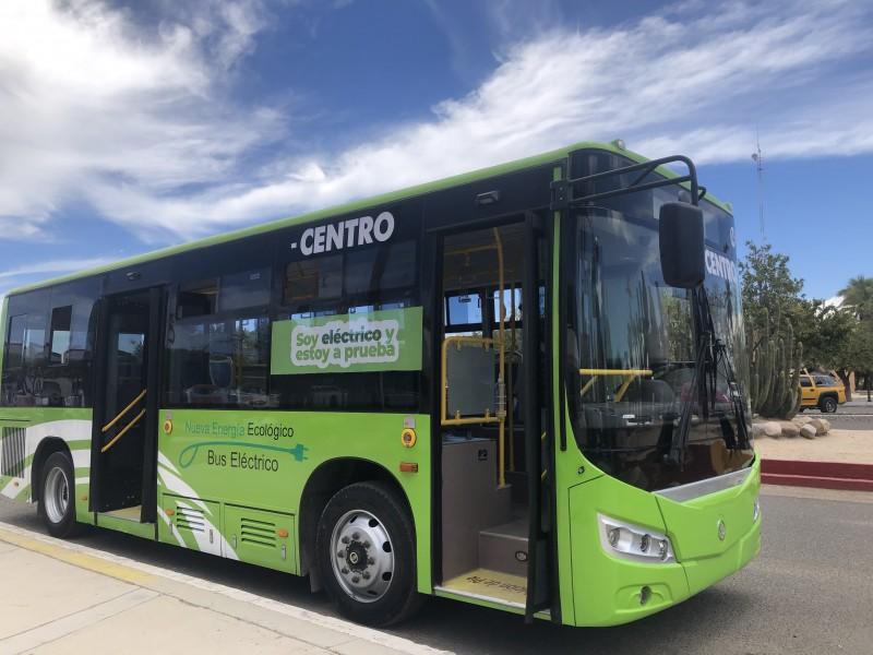 A prueba transporte eléctrico en La Paz