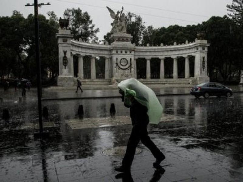 A sacar el paraguas, se espera un lunes lluvioso