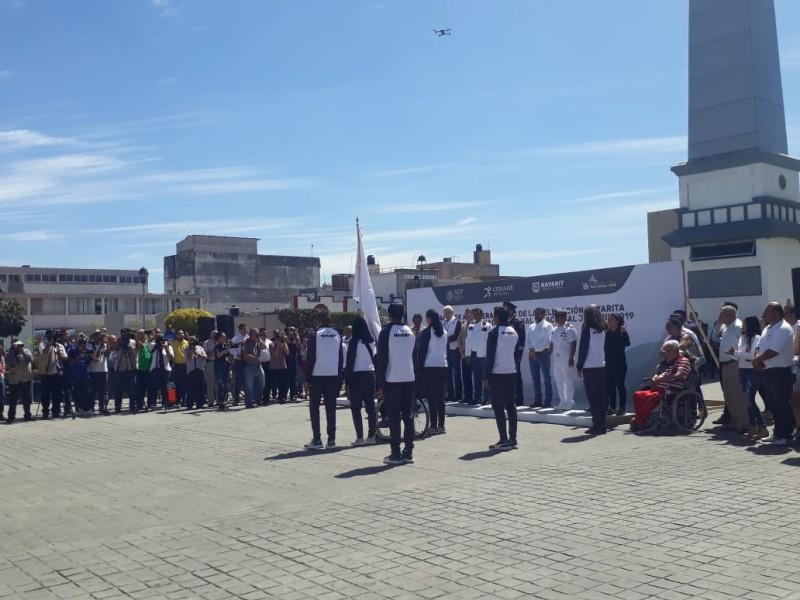 Abanderamiento delegación Nayarit; rumbo olimpiada nacional 2019
