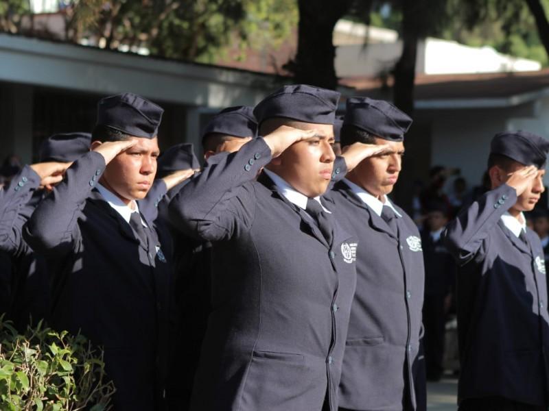 Abanderan a Bachillerato Militarizado en Zacatecas