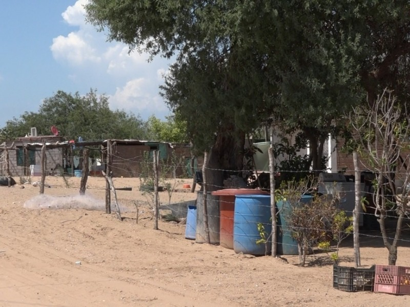 Abandonan la comunidad de El Jitzámuri por falta de agua