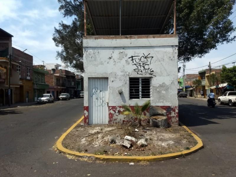 Abandonados módulos de vigilancia en Zamora
