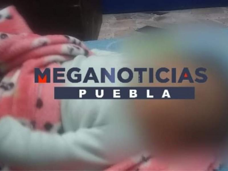 Abandonan a bebé en Huixcolotla, fue llevada a DIF
