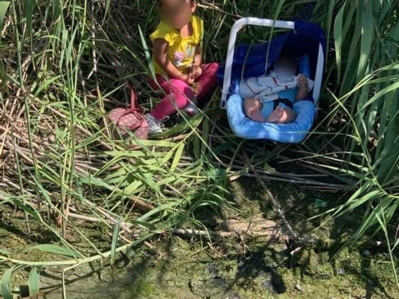 Abandonan a dos niños migrantes en la frontera de Coahuila