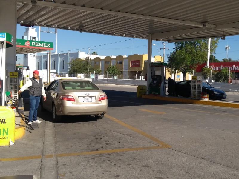 Abasto de gasolina al 87% en ZMG
