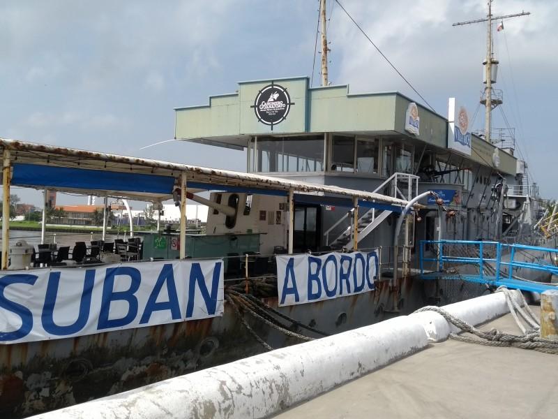 Abierto buque Cañonero Guanajuato