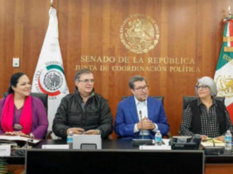 Abordan Ebrard, Márquez y Seade, T-MEC con senadores