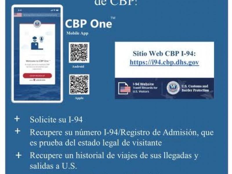 Abre Estados Unidos solicitud de permisos de internamiento en línea