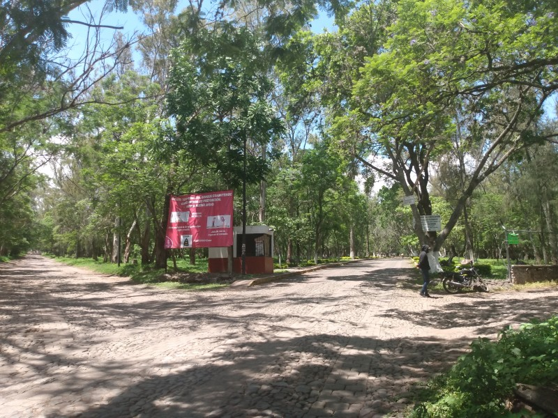 Abren el acceso al bosque Cuauhtémoc en Jiquilpan