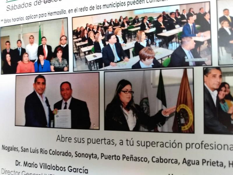 Abren Licenciatura en Derecho Burocrático