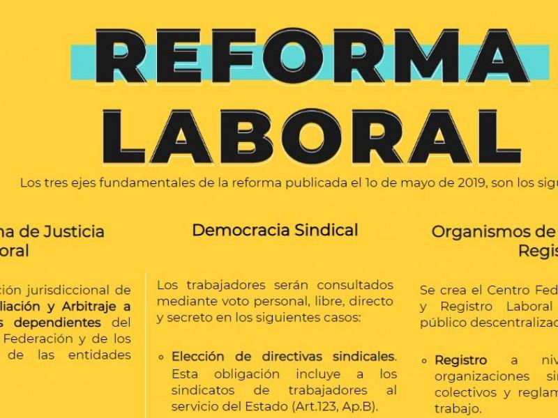 Abren página de la Reforma Laboral.
