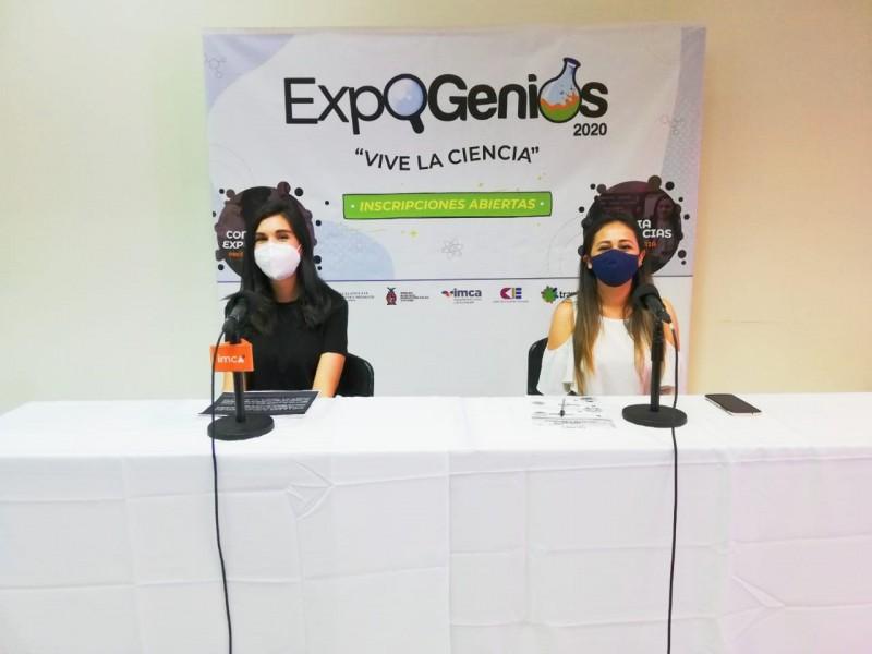 Abren registro para participar en Expo Genios 2020