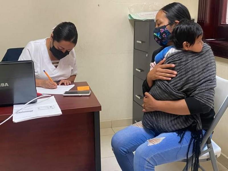 Abren registro para vacunación antiCOVID de rezagados en Chilchota