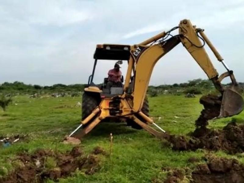 Abrirán 60 nuevas fosas en panteones de Juchitán
