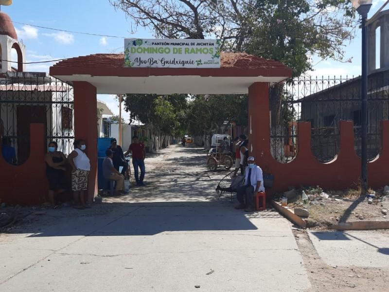 Abrirán panteones para celebración de Semana Santa en Juchitán