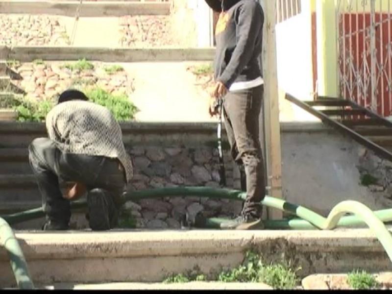 Abrirán red de distribución de agua  enGuadalupe