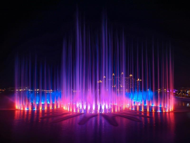 Abudabí suma récords, tiene la fuente más grande del mundo