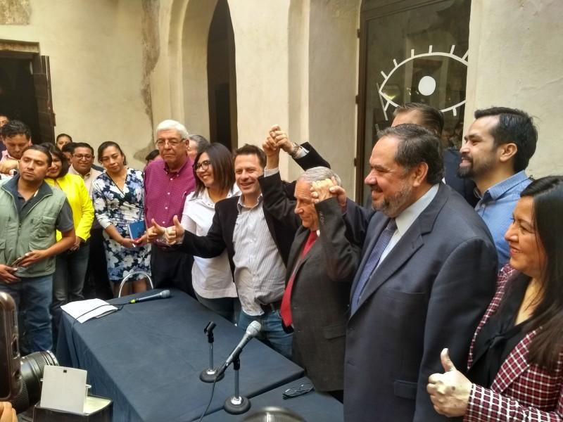 Académico Enrique Cárdenas, va por la gubernatura poblana