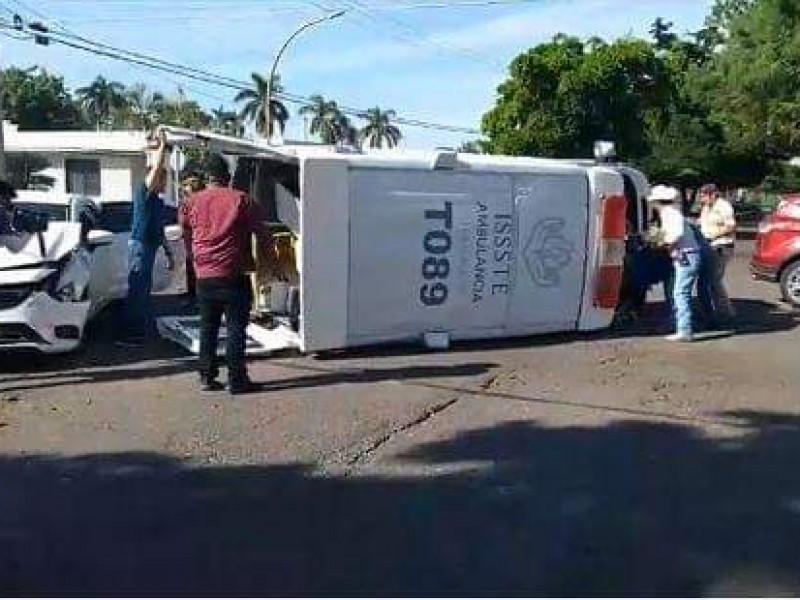 Accidente de ambulancia fue imprudencia