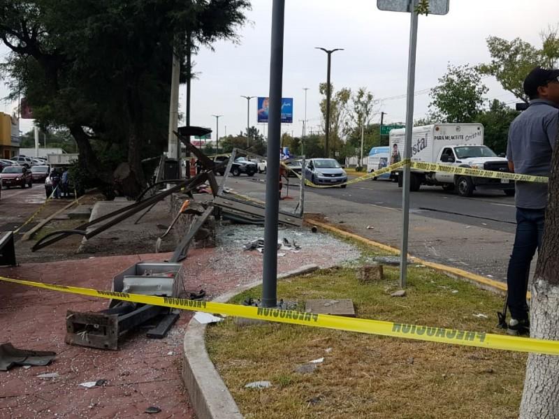 Accidente deja muertos en Paseo Constituyentes