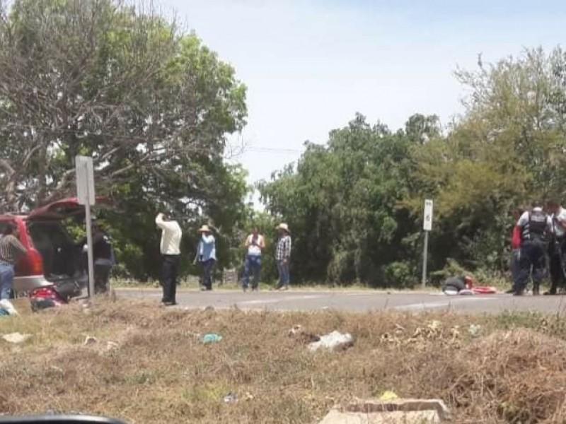 Accidente vial cobra la vida de un menor en Tuxpan