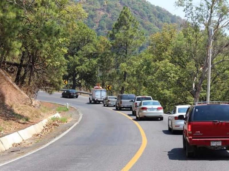 Accidentes diarios en vías alternas por cierre de Autopista SigloXXI